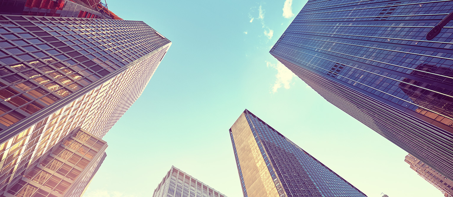Finacial Buildings Background Image